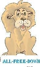 free vector Lion Sitting 2