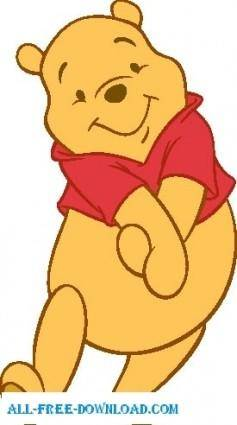free vector Winnie the Pooh Pooh 031