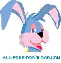 free vector Rabbit Smiling 2