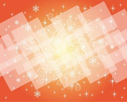 free vector Red Winter Design