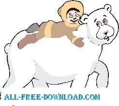 Polar Bear and Boy