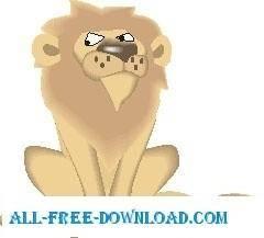 free vector Lion 18