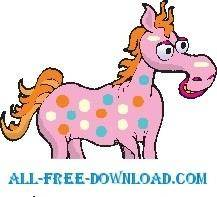 free vector Horse Spotted