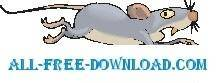free vector Mouse Scared