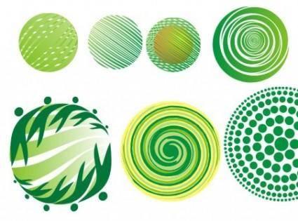 free vector Green Globe Vector