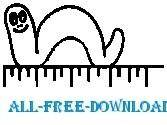 free vector Inch Worm 2