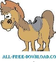 free vector Horse 22