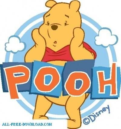 free vector Winnie the Pooh Pooh 023