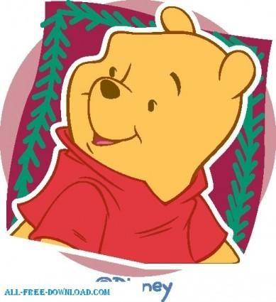free vector Winnie the Pooh Pooh 035