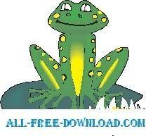 Frog Smiling