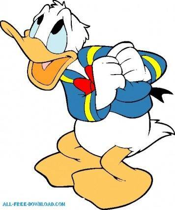 free vector Donal duck 006