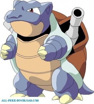 free vector Pokemon 009