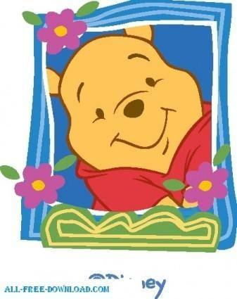 free vector Winnie the Pooh Pooh 051