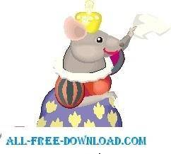 free vector Mouse Queen