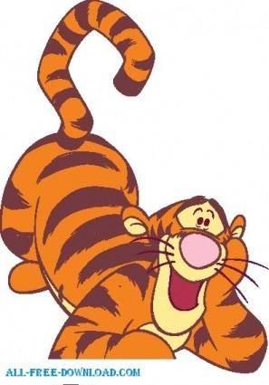 Winnie the Pooh Tigg 017