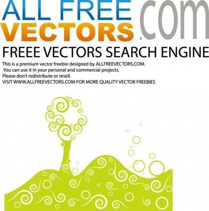 free vector Vector stylized tree