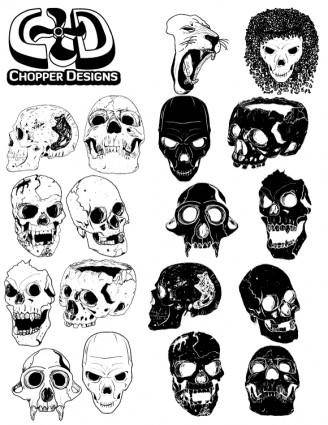 ChopperDesigns Skull Set 9624