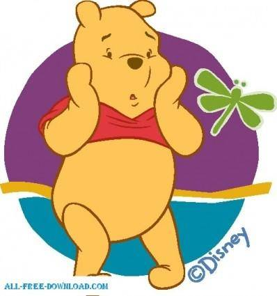 free vector Winnie the Pooh Pooh 045