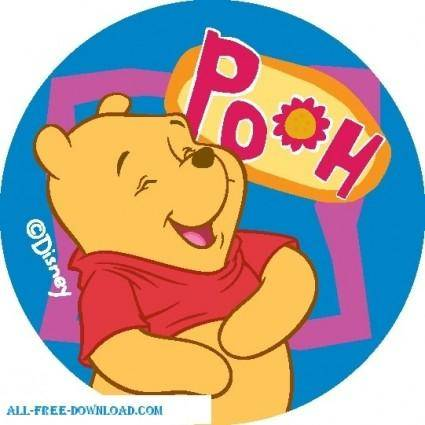 free vector Winnie the Pooh Pooh 028