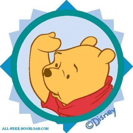 free vector Winnie the Pooh Pooh 039