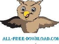 free vector Owl 11