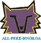 free vector Wolf Face