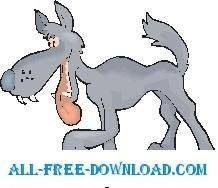 Wolf Walking 1