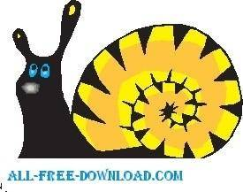 free vector Snail 20