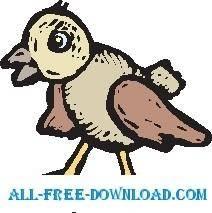free vector Sparrow