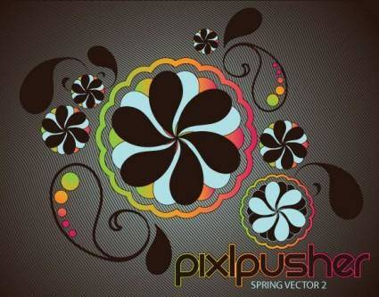 Another Free Spring Vector 9641