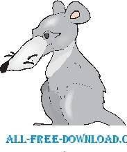 free vector Rat 6