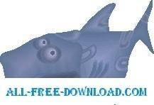 free vector Shark 21