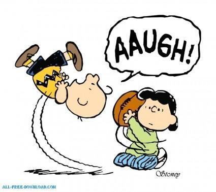 free vector Charlie Brown Football