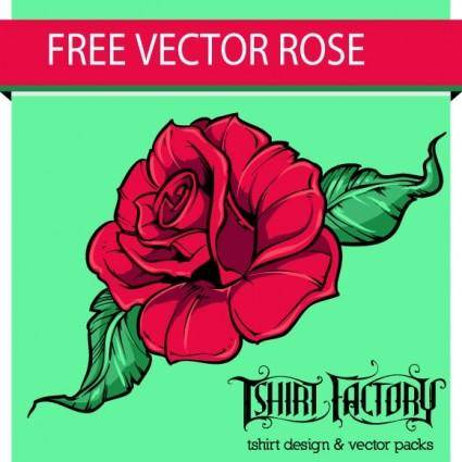 free vector Free Vector Rose