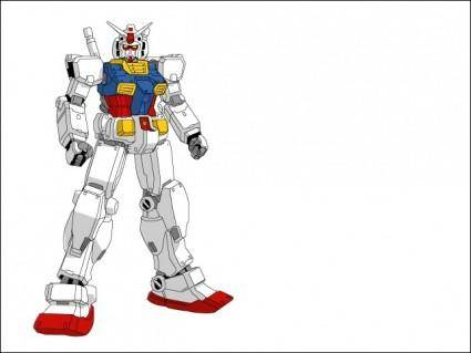free vector Gundam Rx782
