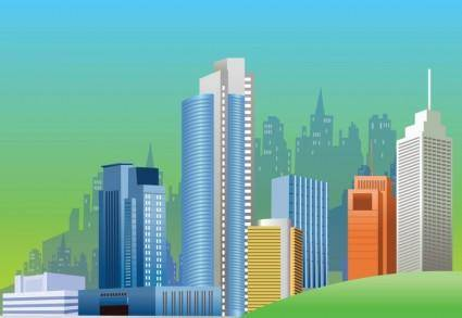 free vector City Skyline Vector Graphics