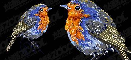 Vector material birdies
