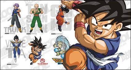 free vector Pearl Wukong Dragon Ball characters