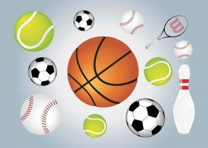free vector Ball Sports