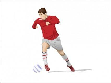 free vector Soccer Player Vector