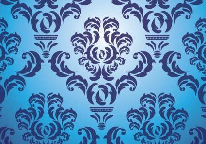 free vector Antique Damask Vector