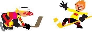 free vector Hockey sport vector 2