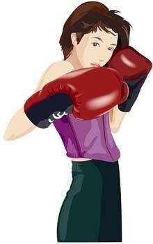 free vector Boxing sport vector 2