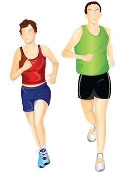 free vector Running sport vector 2