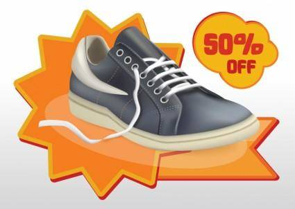 free vector Shoes Sale Vector