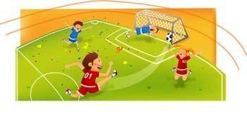 Football vector 7