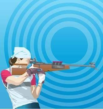 free vector Shoting and archery sport 1