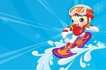 free vector Surfing sport vector 16
