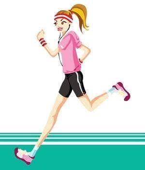 Running sport vector 9