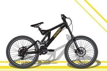 Bike sport vector 16